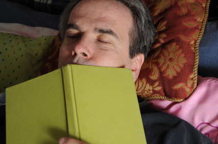 Do you fall asleep when you are reading? (1/2)